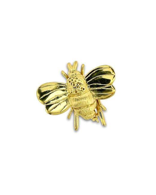 Will Bishop - Metallic Gold Vermeil Bumble Bee Brooch - Lyst