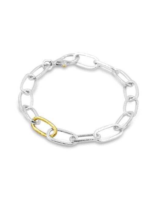 Gurhan - Metallic Hoopla Oval Link Bracelet - Lyst