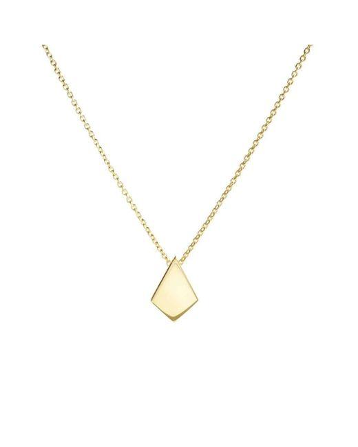 Ali Haley   Metallic Metrica Tiny Vermeil Kite Necklace   Lyst