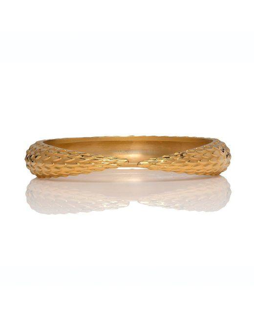 Marina Skia - Metallic Viper Gold Bracelet - Lyst