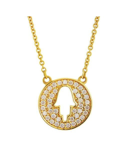 Alexis Danielle Jewelry - Metallic Protection Necklace - Lyst