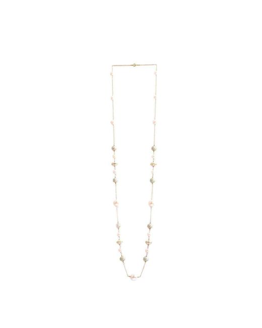 M's Gems by Mamta Valrani | Multicolor Sea Breeze Chain With Mother Of Pearl And Enamel Beads | Lyst
