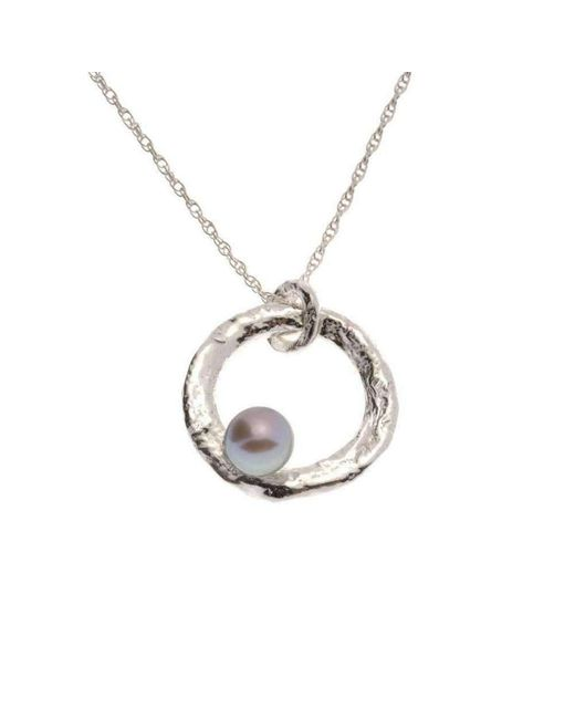 Erin Cox Jewellery - Pink Floating Pearl Pendant - Lyst