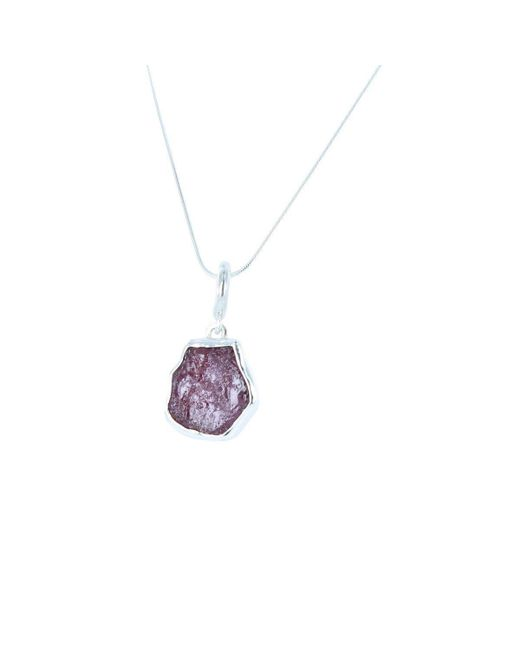Reeves and Reeves - Multicolor Rough Stone Ruby Pendant Necklace - Lyst