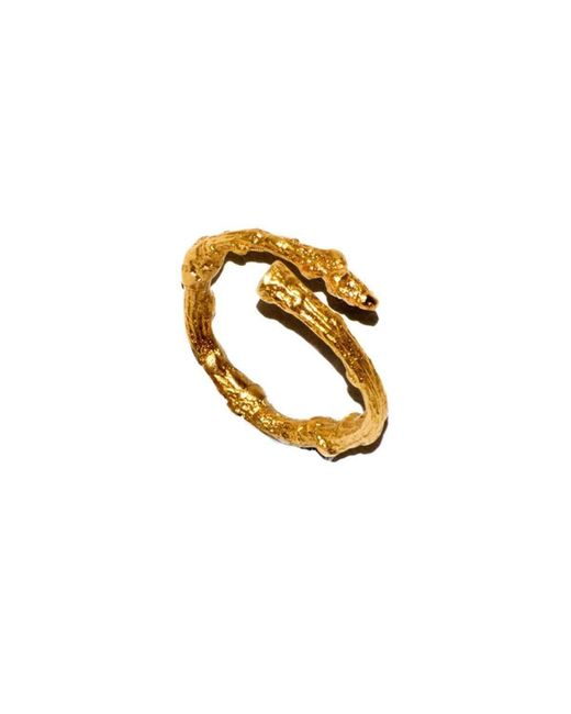 Tracy Hills Jewellery   Multicolor Gold Vermeil Twig Ring   Lyst