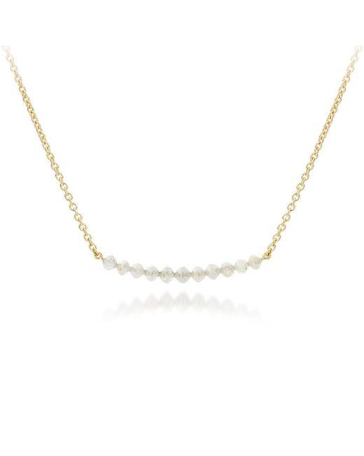 AMMA Jewelry - Metallic 18kt Gold Pearl Drops Necklace - Lyst