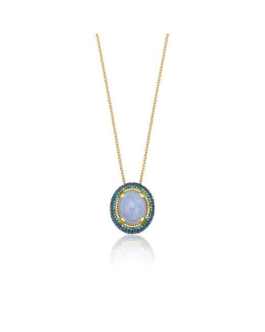 Niquesa Fine Jewellery | Multicolor Venice Bauta Chalcedony Pendant | Lyst