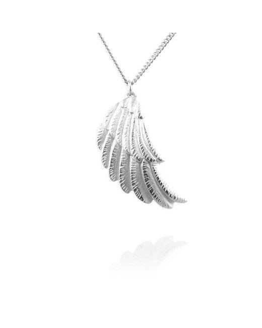 Jana Reinhardt Jewellery - Metallic Sterling Silver Wing Necklace - Lyst