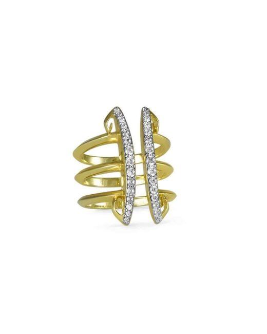 REALM - Multicolor Sceptre Linea Corset Ring - Lyst
