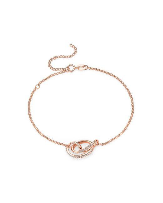 Fei Liu - Metallic 18kt Rose Gold Plated Serenity Bracelet - Lyst