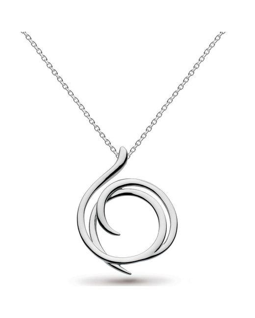 Kit Heath - Metallic Twine Helix Eloquent Necklace - Lyst