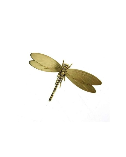 Will Bishop - Multicolor Gold Vermeil Dragonfly Brooch - Lyst