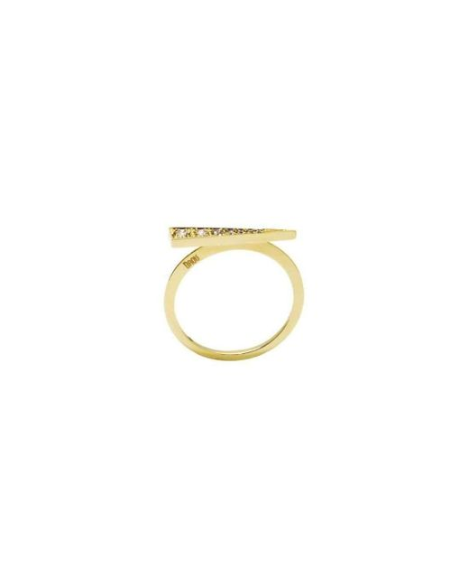 Daou Jewellery - Multicolor Spark Ring - Champagne Diamond - Lyst