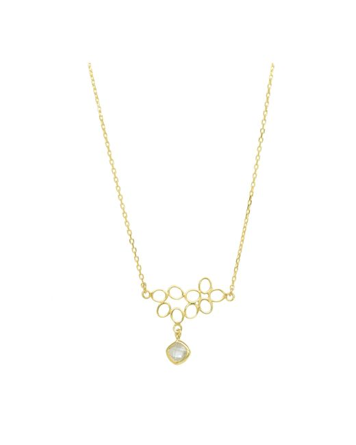 Purnell | Metallic Gold Nectar Necklace | Lyst