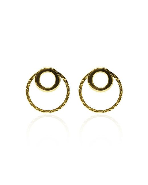 Carao Jewelry | Metallic Cadence Ear Jackets Gold Plated | Lyst