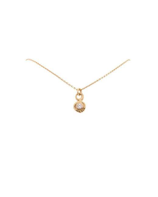 Erin Cox Jewellery - Metallic Diamond Pendant - Lyst