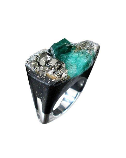 Pasionae Emerald Ring - Distress - UK N - US 6 1/2 - EU 54 iGyJsSOO1