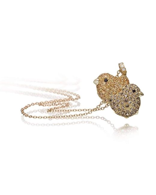 Pinomanna - Metallic Pet Jewels Collection Chicks Necklace - Lyst