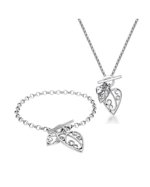 Lily & Lotty Aimee Necklace, Earrings & Bracelet Set