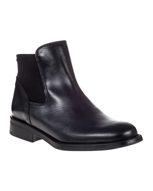 275 Central | 845 Ankle Boot Black Leather | Lyst