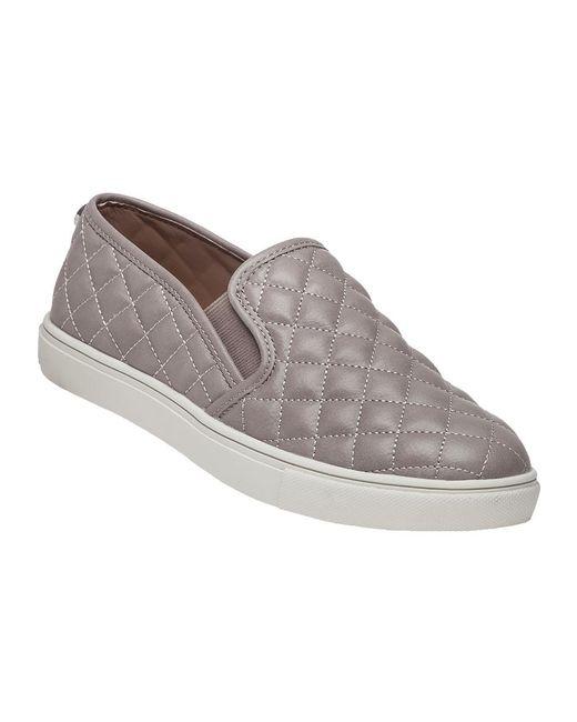 Steve Madden | Gray Ecentrcq Grey Quilted Slip-on Sneaker for Men | Lyst