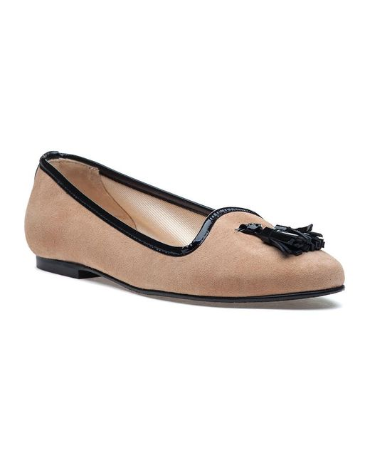 Jon Josef | Multicolor Monelle Cashew Suede Smoking Slipper | Lyst