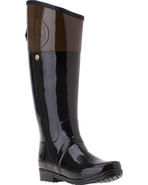 Hunter | Brown Carlyle Rain Boot Milk Chocolate Rubber | Lyst
