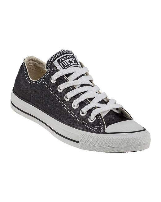Converse Chuck Taylor All-star Sneaker Black Leather