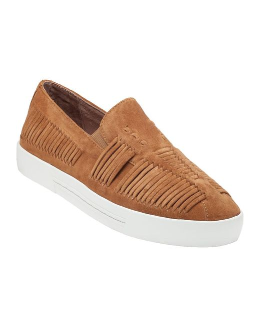 Joie | Brown Huxley Whiskey Suede | Lyst