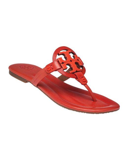 Tory Burch | Red 'miller' Flip Flop | Lyst