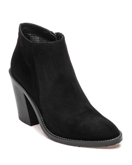Aquatalia   Black Loren Suede Ankle Boots   Lyst