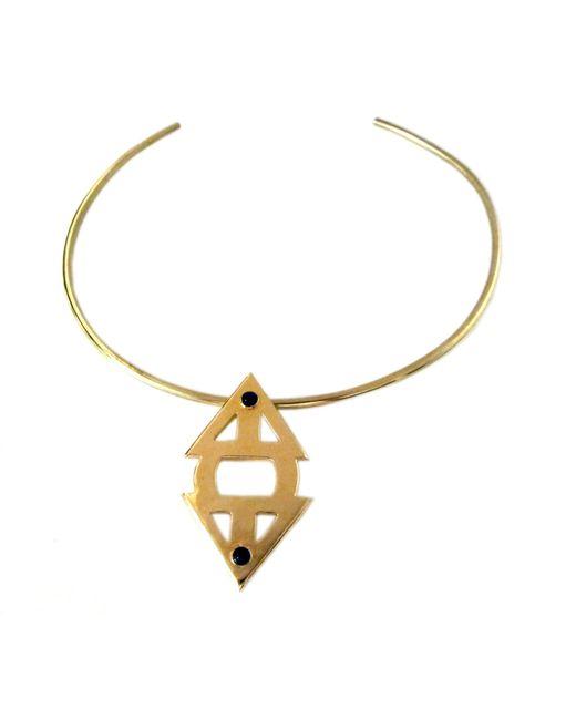 Jill Golden | Metallic Meridian Collar | Lyst