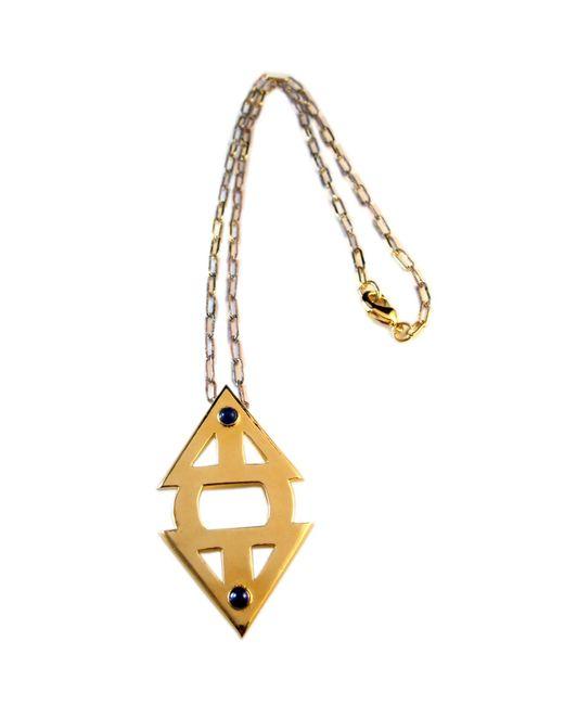 Jill Golden   Metallic Meridian Necklace   Lyst