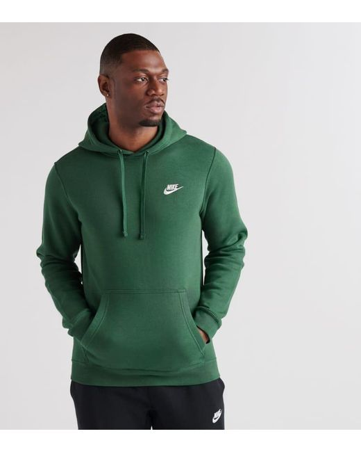 3292cc4bd Nike - Green Club Swoosh Pullover Hoodie for Men - Lyst ...