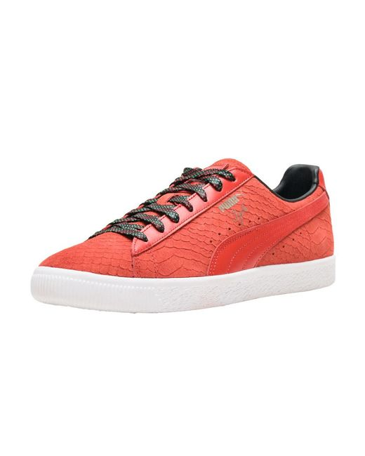 PUMA - Red Clyde Gcc for Men - Lyst