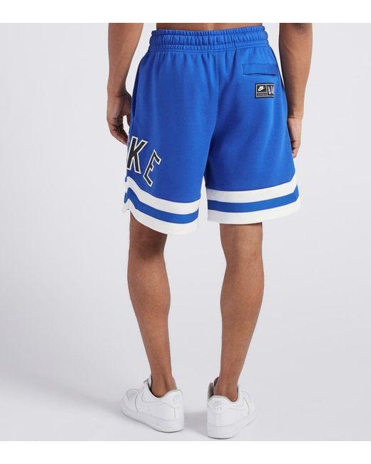 3ce13a4426 ... Nike - Blue Air Fleeces Shorts for Men - Lyst