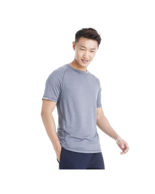 Joe Fresh - Blue Men's Crew Neck Active Tee for Men - Lyst