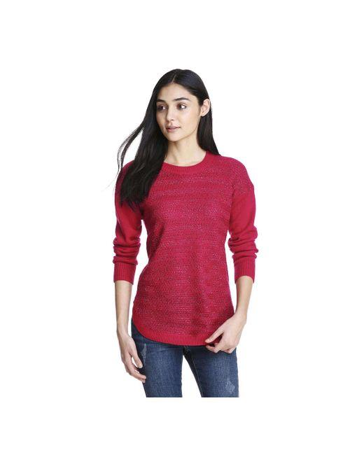 Joe Fresh | Red Women+ Sparkle Novelty Sweater | Lyst