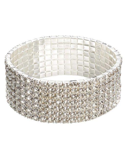 Joe Fresh | White Crystal Statement Bracelet | Lyst