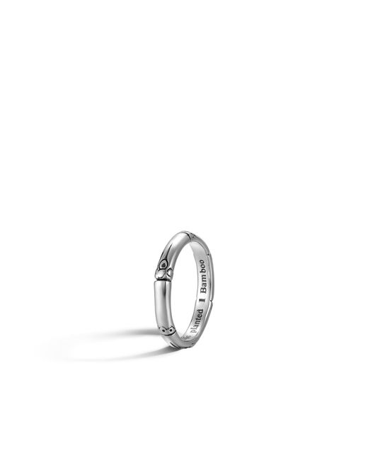 John Hardy - Metallic Band Ring - Lyst
