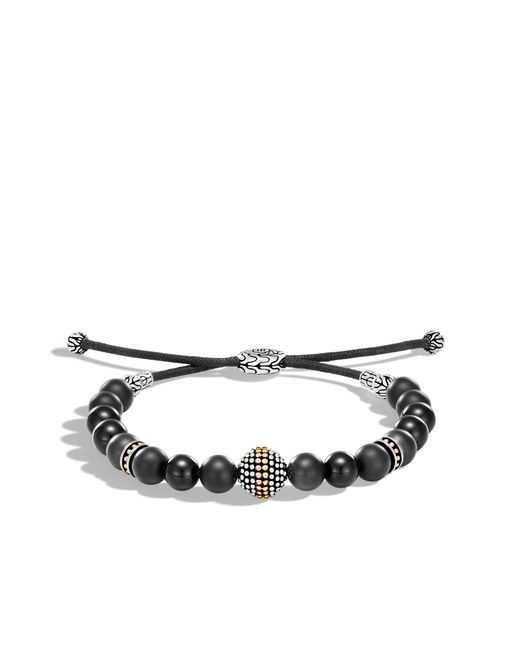 John Hardy | Jawan Bead Bracelet With Black Onyx for Men | Lyst