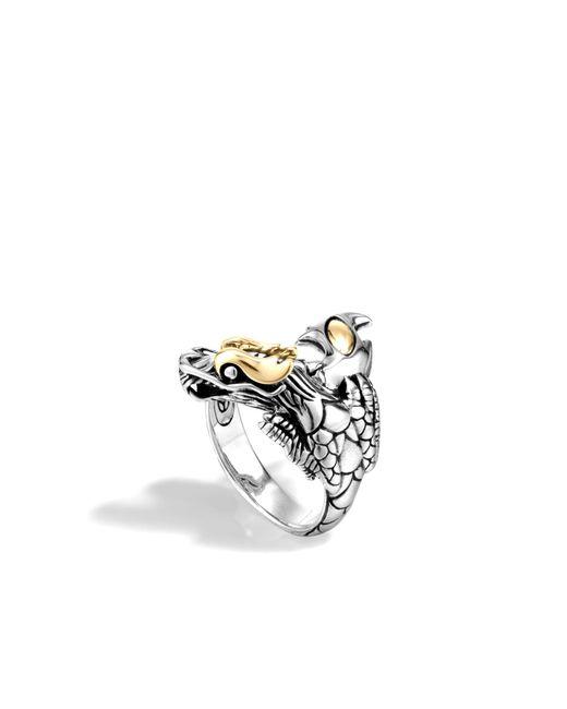 John Hardy | Metallic Naga Ring | Lyst