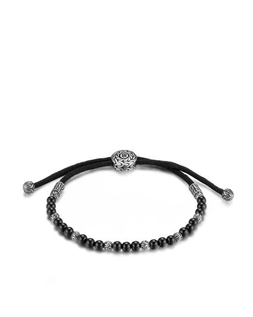 John Hardy | Classic Chain Bead Bracelet With Black Onyx for Men | Lyst
