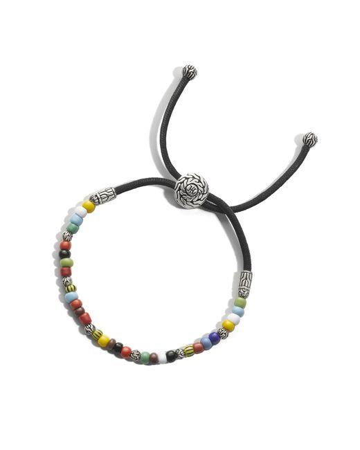 John Hardy   Black Tiger's Eye Bead Bracelet for Men   Lyst