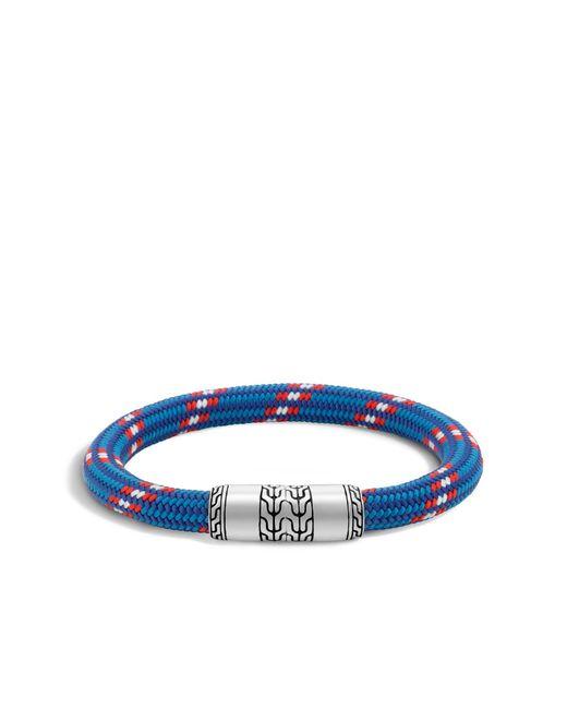 John Hardy   Blue Classic Chain Cord Bracelet for Men   Lyst