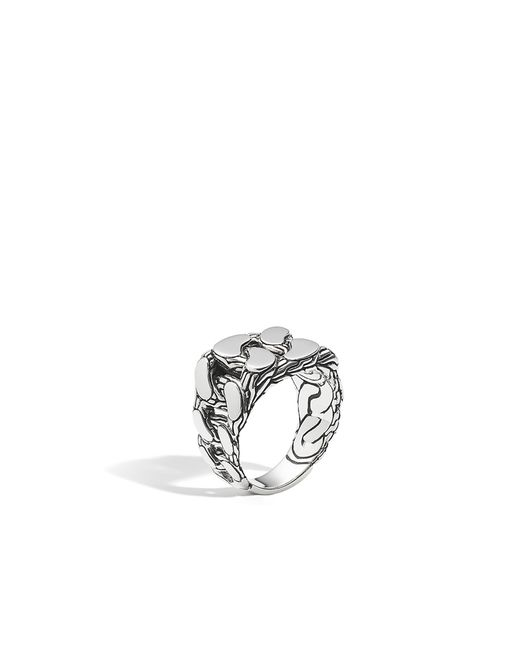 John Hardy | Metallic Classic Chain Signet Ring for Men | Lyst
