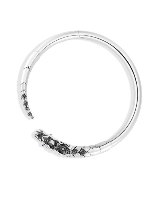 John Hardy - Naga Choker Necklace With Black Sapphire, Black Spinel - Lyst