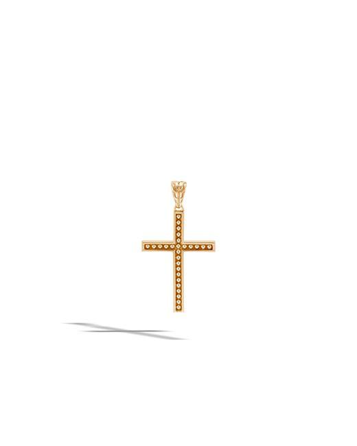 John Hardy - Metallic Jawan Cross Pendant - Lyst