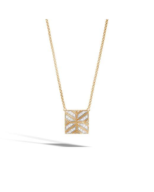 John Hardy - Multicolor Necklace With Diamonds - Lyst