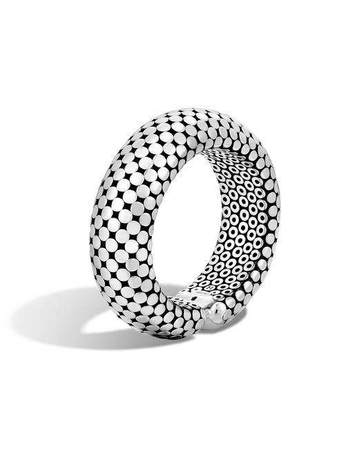 John Hardy | Metallic Dot Cuff | Lyst